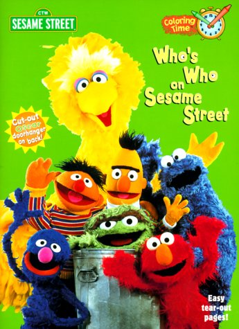 9780375804922: WHO'S WHO ON SESAME