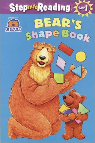 9780375805141: Bear in the Big Blue House: Bear's Shape Book (Step into Reading, Step 1, paper)