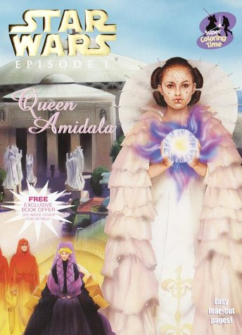 9780375805257: Queen Amidala's Royal Coloring Book (Coloring & Activity Book, 7)