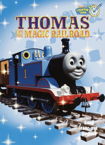 9780375805547: Thomas and the Magic Railroad Coloring Book (Super Coloring Time)