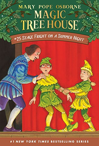 9780375806117: Stage Fright on a Summer Night (Magic Tree House #25)