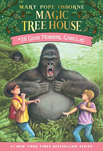 9780375806148: Good Morning, Gorillas (Magic Tree House #26)