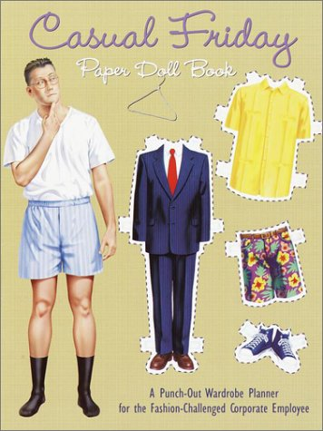 9780375806605: Casual Friday Paper Doll Book (Punch & Play Book)