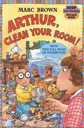 9780375808739: Arthur, Clean Your Room! (Step into Reading Sticker Book)