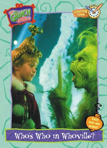 How the Grinch Stole Christmas! Who's Who in Whoville? (Super Coloring Book): Random House
