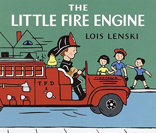 The Little Fire Engine: Lois Lenski (author),