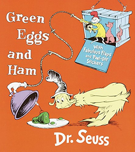 9780375810886: Green Eggs and Ham: With Fabulous Flaps and Peel-Off Stickers