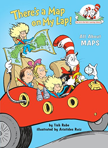 9780375810992: There's a Map on My Lap!: All About Maps (Cat in the Hat's Learning Library)