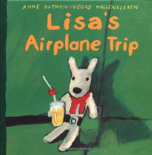 9780375811142: Lisa's Airplane Trip (Misadventures of Gaspard and Lisa)