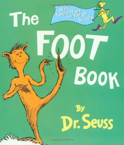 9780375811357: The Foot Book