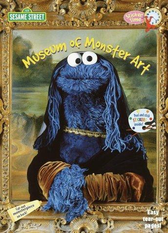 Museum of Monster Art (Sticker Time): Random House