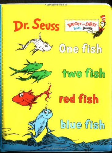 One Fish, Two Fish, Red Fish, Blue Fish(Vinyl Bath Book) (0375811648) by Seuss, Dr.