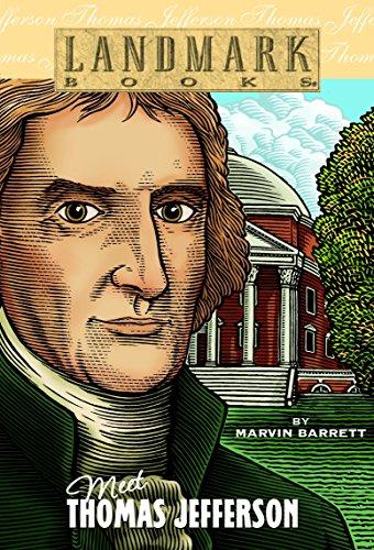 9780375812118: Meet Thomas Jefferson (Landmark Books)