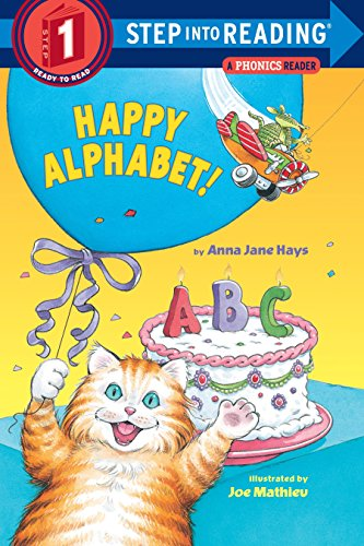 Happy Alphabet A Phonics Reader Step-Into-Reading, Step: Anna Jane Hays
