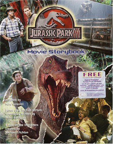 9780375812880: Jurassic Park III: Movie Storybook