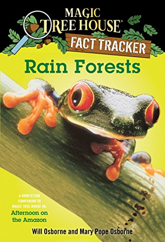 9780375813559: Rain Forests (Magic Tree House Research Guide)