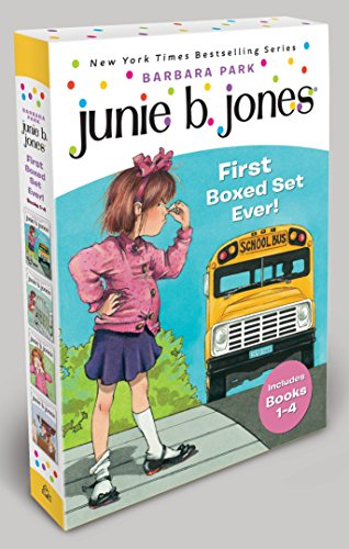 9780375813610: Junie B. Jones's First Boxed Set Ever! (Books 1-4)