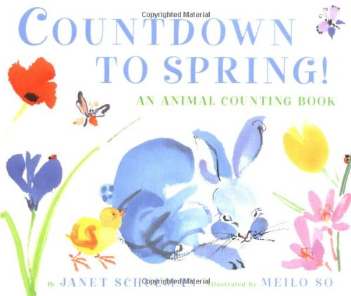 9780375813641: Countdown to Spring! An Animal Counting Book