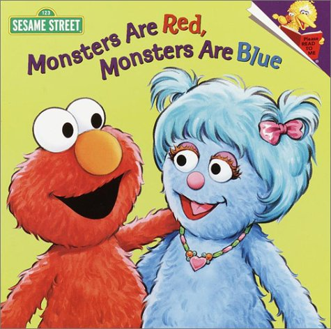 9780375813795: Monsters are Red, Monsters are Blue (Pictureback(R))