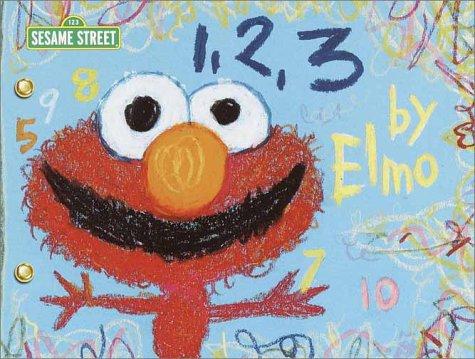 9780375813900: 1, 2, 3 by Elmo (SesaME Books)