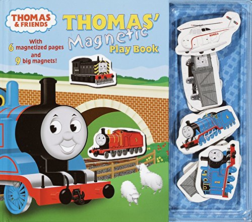9780375814044: Thomas' Magnetic Playbook [With 9 Magnets] (Thomas & Friends)
