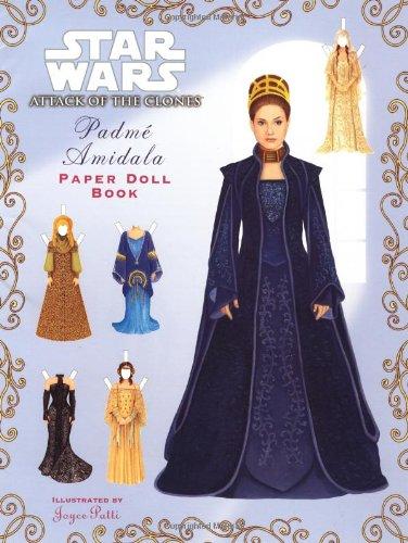 9780375815089: Star Wars Episode II: Padme Amidala : Paper Doll Book (Punch & Play Books)