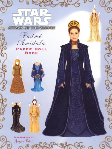 Star Wars Attack of the Clones: Padme Amidala Paper Doll Book