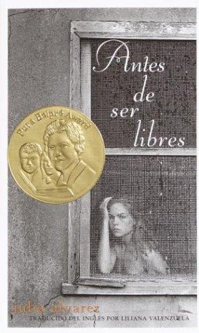 9780375815454: Antes de ser libres (Spanish Edition)