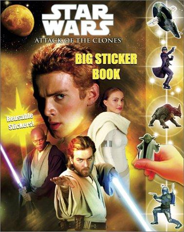 9780375815959: Star Wars Episode II: Big Sticker Book