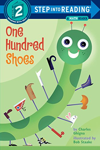 9780375821783: One Hundred Shoes: A Math Reader (Step-Into-Reading, Step 2)