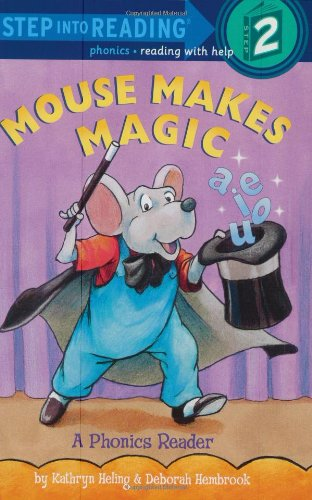 9780375821844: Mouse Makes Magic: Phonics Reader (Step-Into-Reading, Step 2)