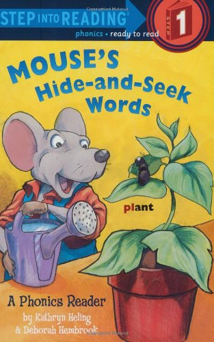 9780375821851: Mouse's Hide-and-Seek Words (Step into Reading)