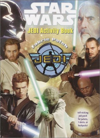 Jedi Fabric Patch Activity Book (Color Plus): Random House