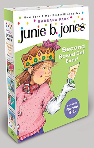9780375822650: Junie B. Jones's Second Boxed Set Ever!: 5-8