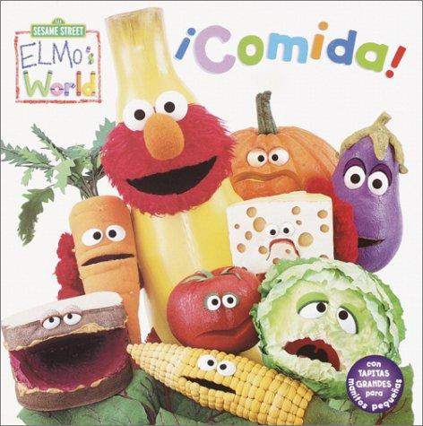 9780375822711: Elmo's World Comida (Sesame Street Elmo's World (Spanish Board Books))