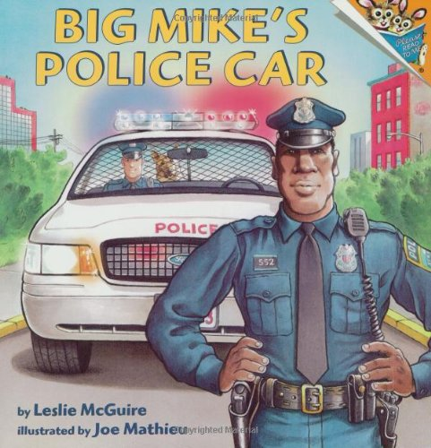 Big Mike's Police Car (Pictureback(R)): McGuire, Leslie