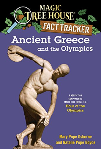 9780375823787: Ancient Greece and the Olympics: A Nonfiction Companion to Magic Tree House #16: Hour of the Olympics (Magic Tree House Fact Trackers)