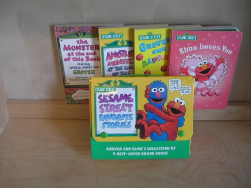 9780375823855: Sesame Street Favorite Stories (Read with Elmo and Grover)