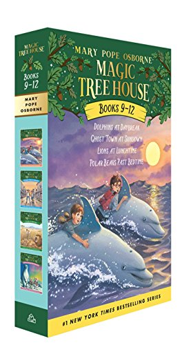 9780375825538: Magic Tree House Collection 3 Books 9-12: Dolphins at Daybreak/Ghost Town at Sundown/Lions at Lunchtime/Polar Bears Past Bedtime