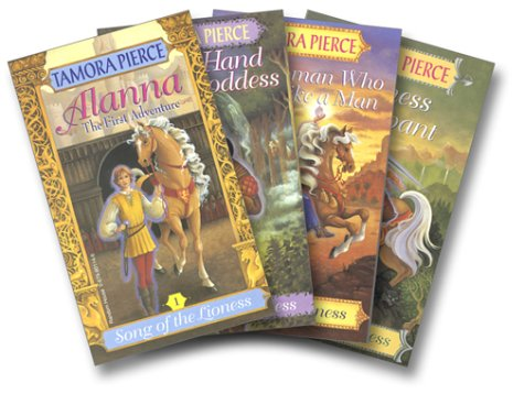 9780375825644: The Song of the Lioness Quartet: Alanna: The First Adventure / In the Hand of the Goddess / The Woman Who Rides Like a Man / Lioness Rampant