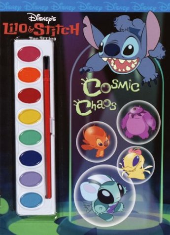 Lilo & Stitch:Cosmic Chaos (Paint Box Book): Golden Books