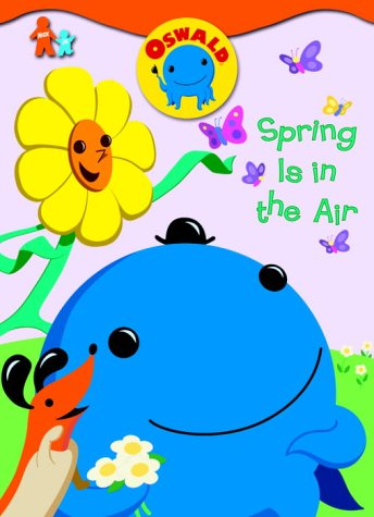 Spring Is in the Air (Oswald) (Super Coloring Book): Golden Books