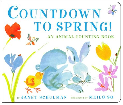 9780375826955: Countdown to Spring!: An Animal Counting Book