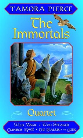 9780375827006: The Immortals Boxed Set (Wild Magic + Wolf-Speaker + Emperor Mage + The Realms of the Gods)