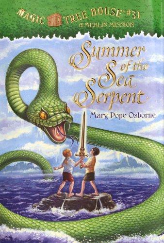 9780375827358: Summer of the Sea Serpent (Magic Tree House)