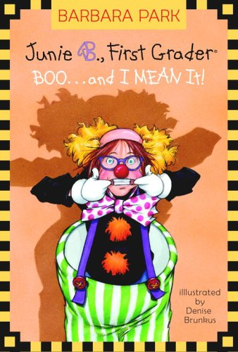 9780375828065: Boo.. and I Mean It! (Junie B., First Grader) (A Stepping Stone Book(TM))