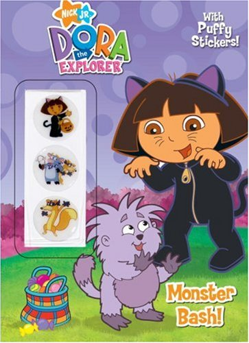 9780375828140: Monster Bash! [With Puffy Stickers] (Dora the Explorer (Golden))