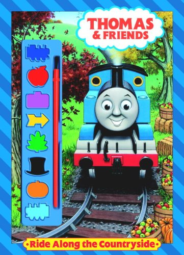 Ride Along the Countryside (Thomas & Friends) (Paint Box Book): Golden Books