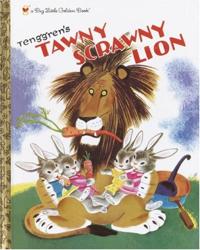 9780375828386: Tawny Scrawny Lion (Big Little Golden Book)