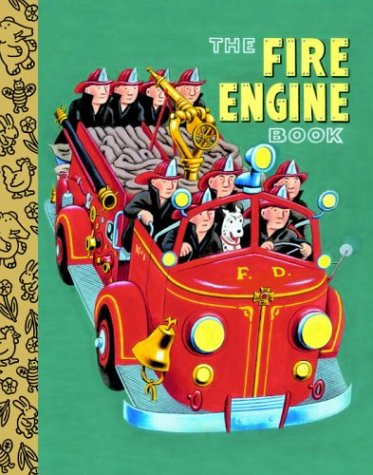 9780375828416: The Fire Engine Book (Little Golden Treasures)